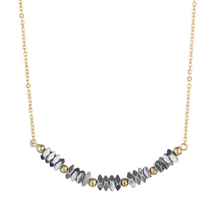 Hematite Short Necklace