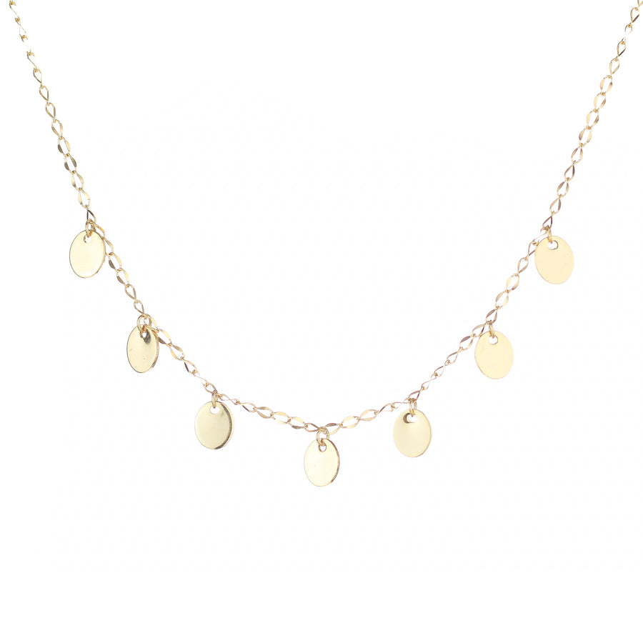 Oval Coins Necklace