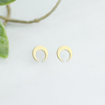 Golden Moon Studs