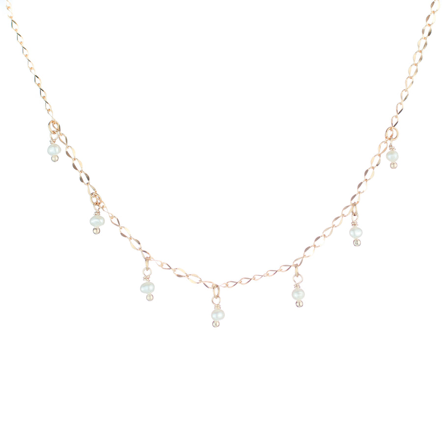 Pearls Drops Necklace