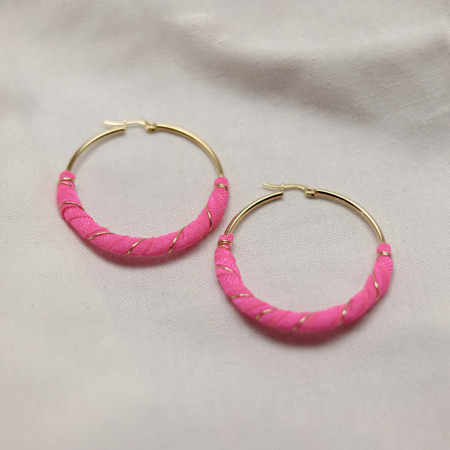 Round Afra Earrings