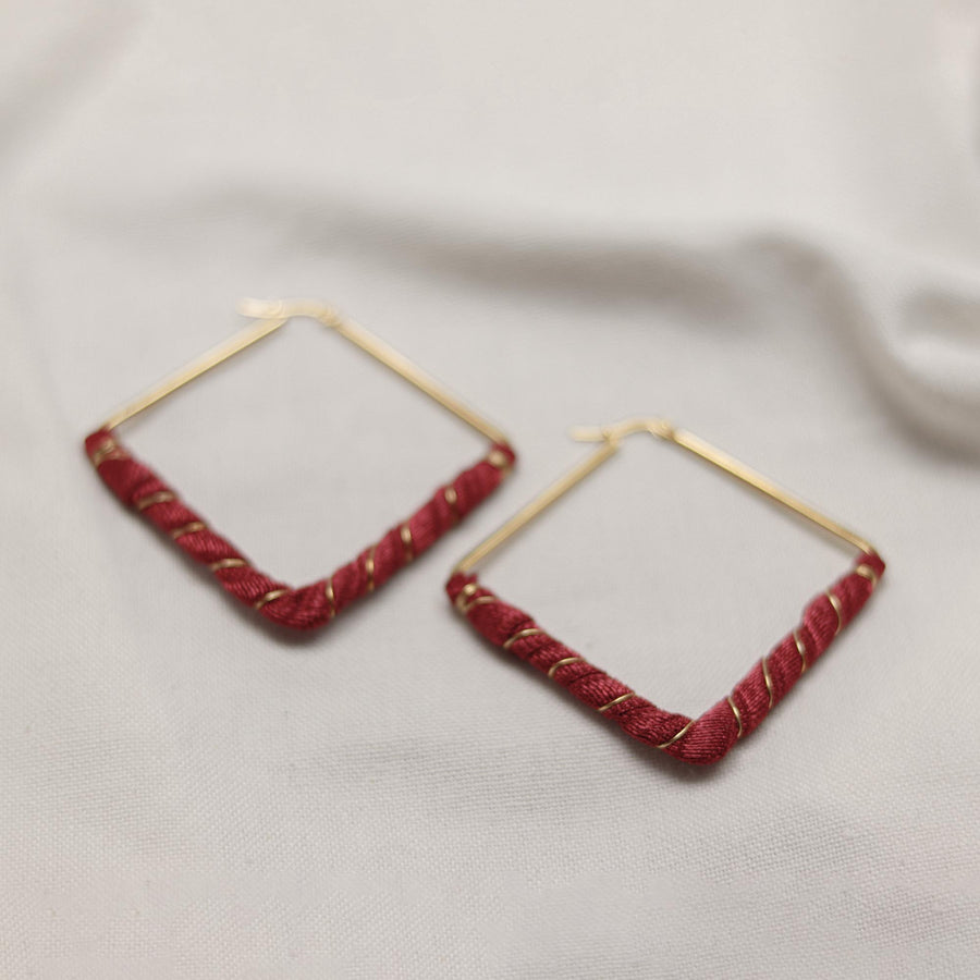 Diamond Afra Earrings