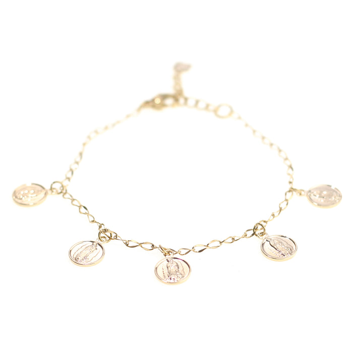 Virgin Mary Bracelet