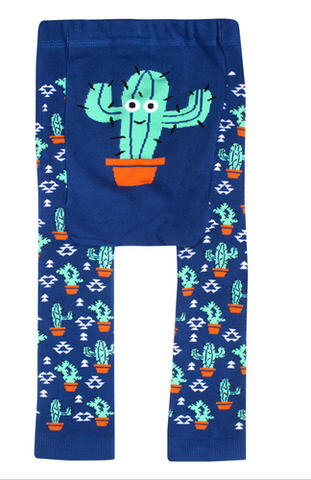 Southwestern Prickly Cotton Leggings