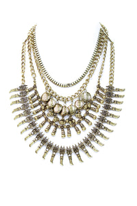 The Cleo Bib Style Necklace