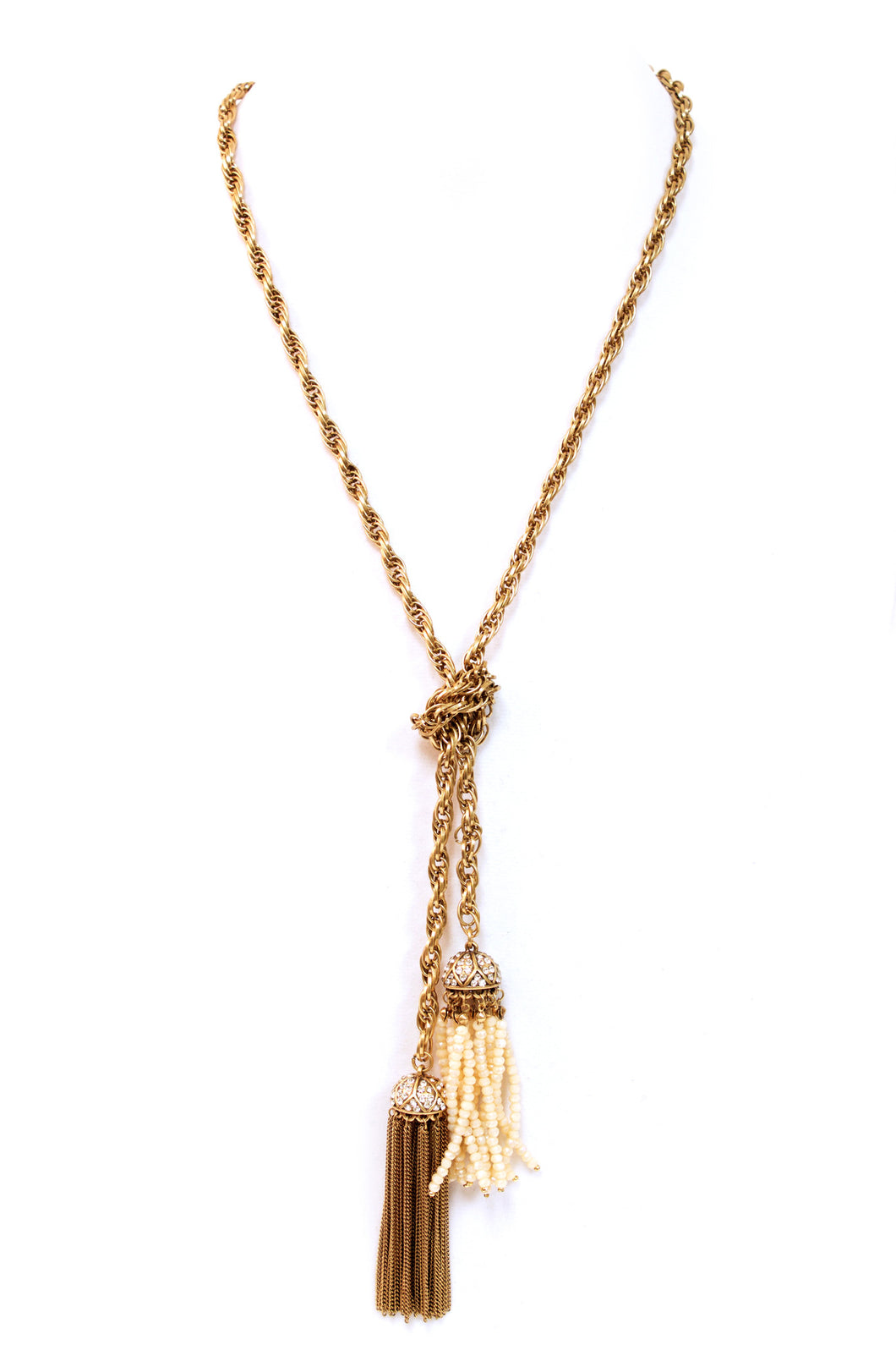 Oversized Bloom Tassel Necklace