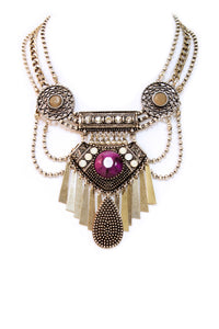 The Amethyst Statement Necklace