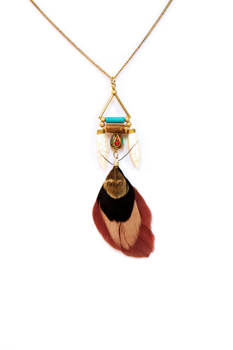 Jamba Feather Pendant