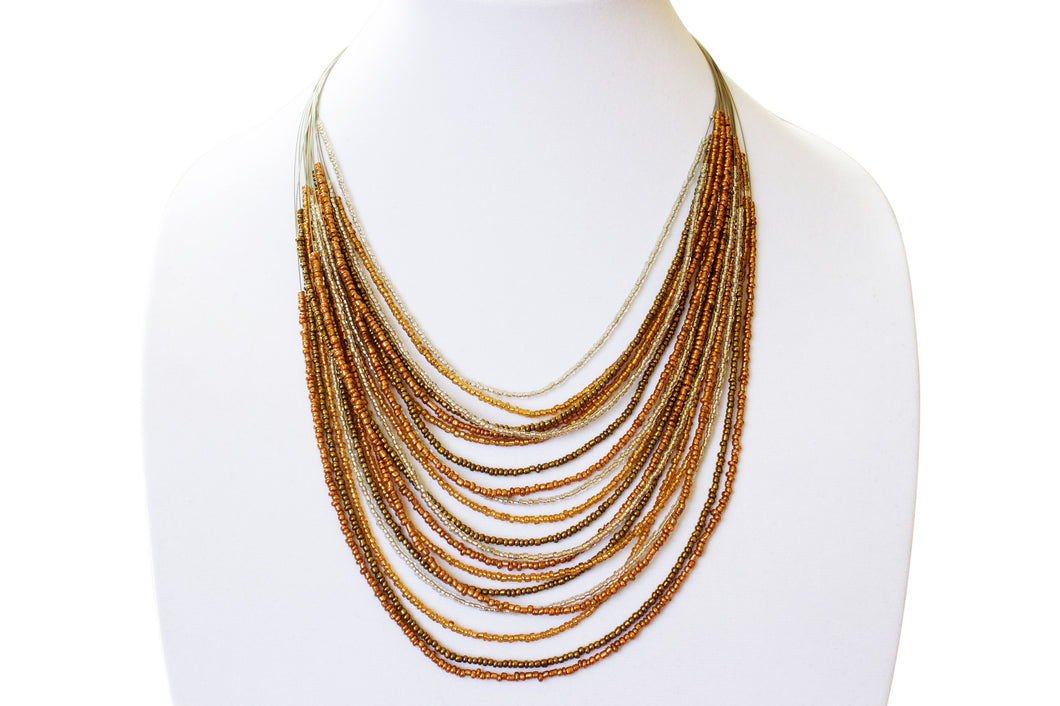 Cooper Layered Necklaces