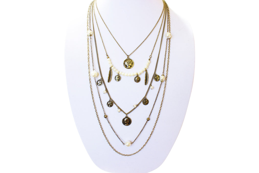 The Roman Layered Necklace