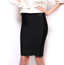 Midnight & Snow Pencil Skirt
