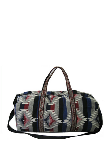 Multi Aztec Duffle Bag