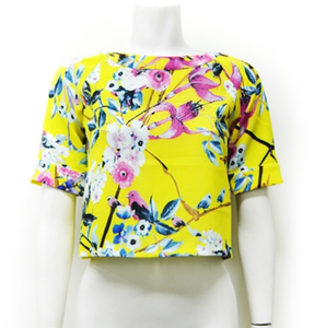 The Koi Floral Top
