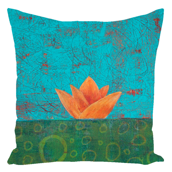 Nucifera Throw Pillow For Sweet Dreams