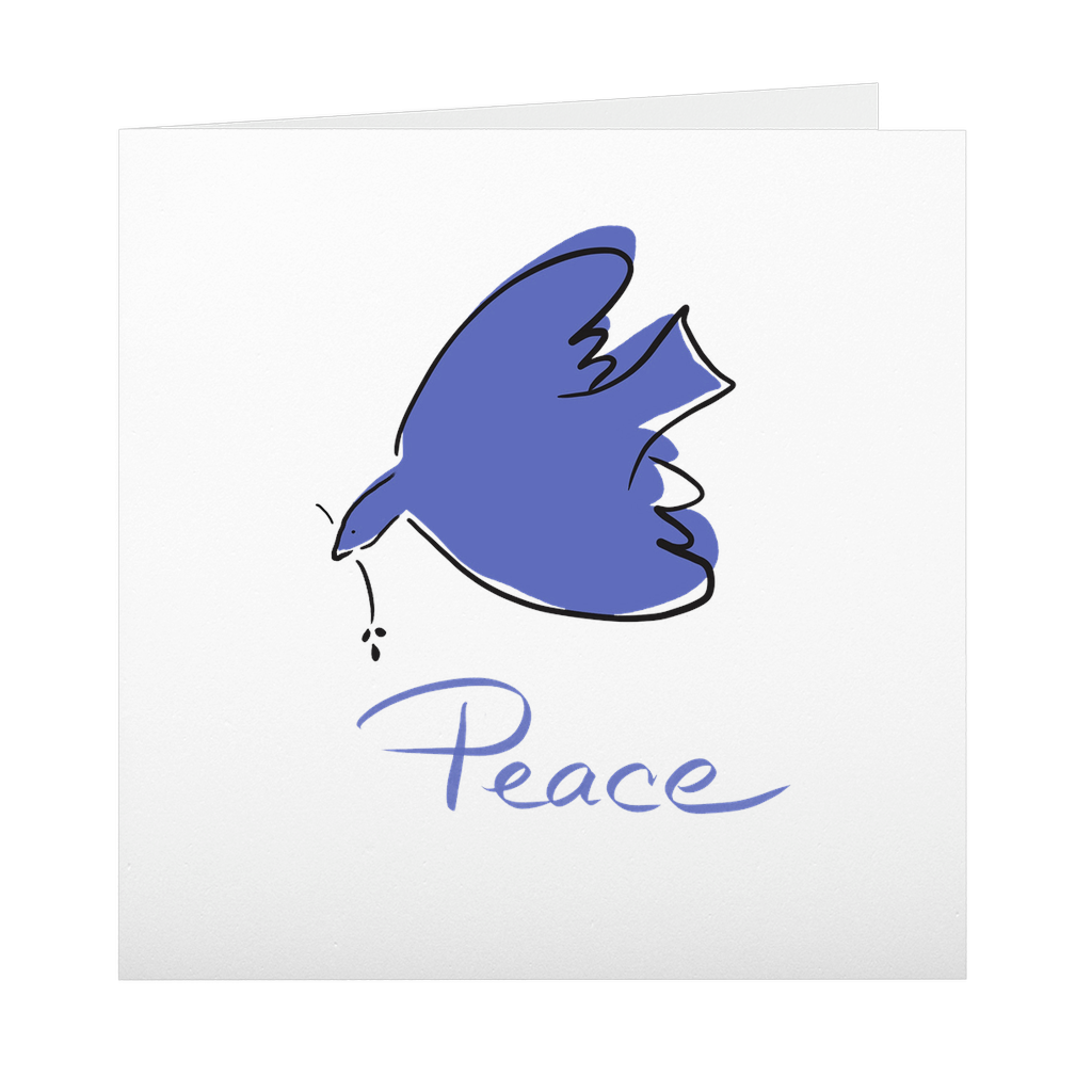 Peace Dove Greeting Card
