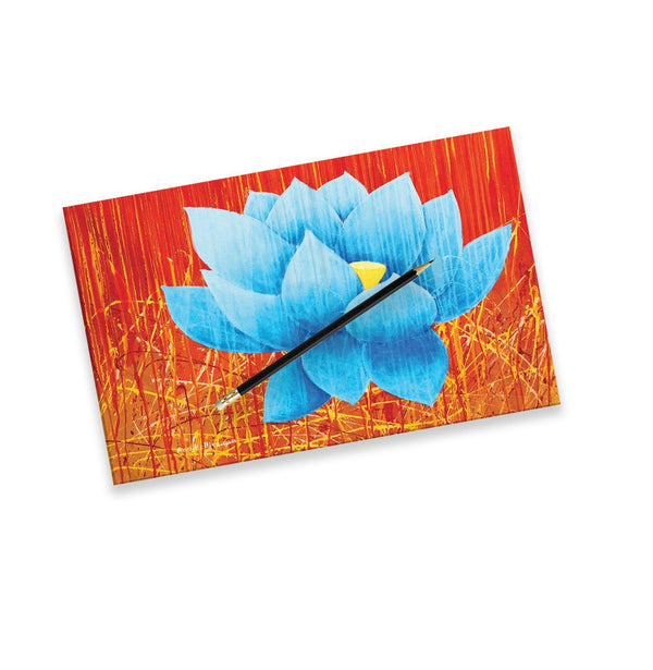 Acrylic Diva | Blue Lotus Journal Hardcover