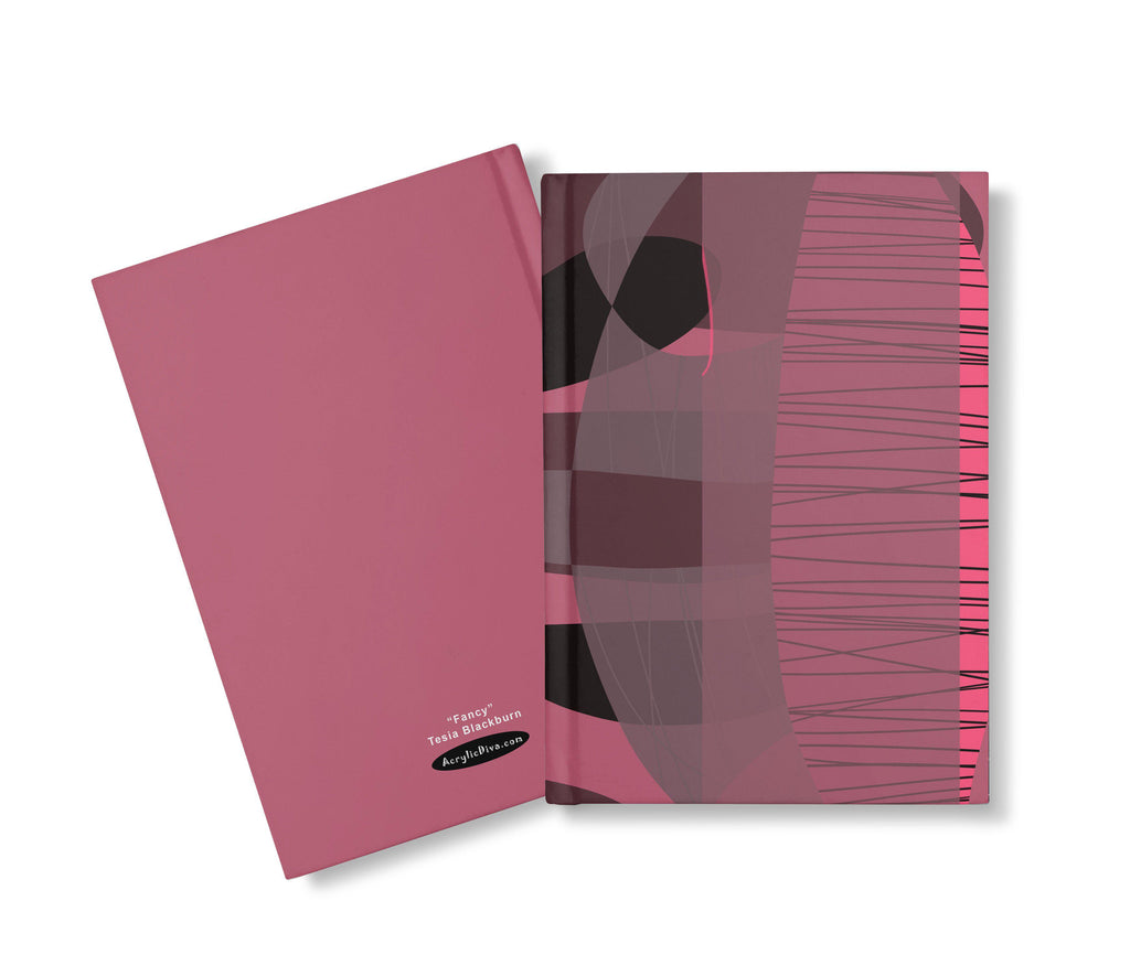 Acrylic Diva | Fancy Journal Hardcover