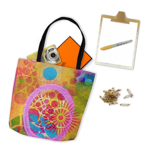 Acrylic Diva | Malibu Sunset Tote Bag