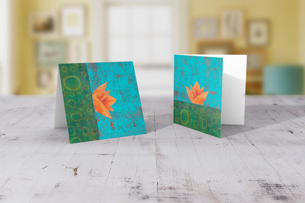 Nucifera Folded Cards 10 Pack