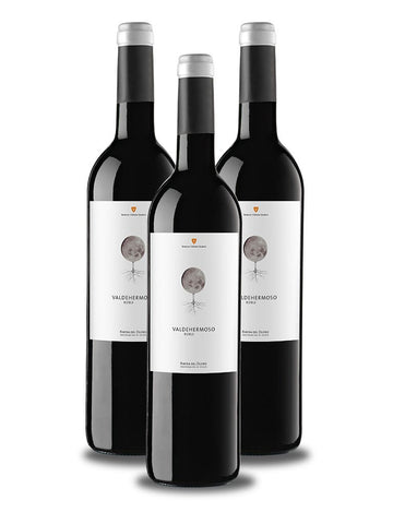 3 Botellas de Valdehermoso Roble 2016