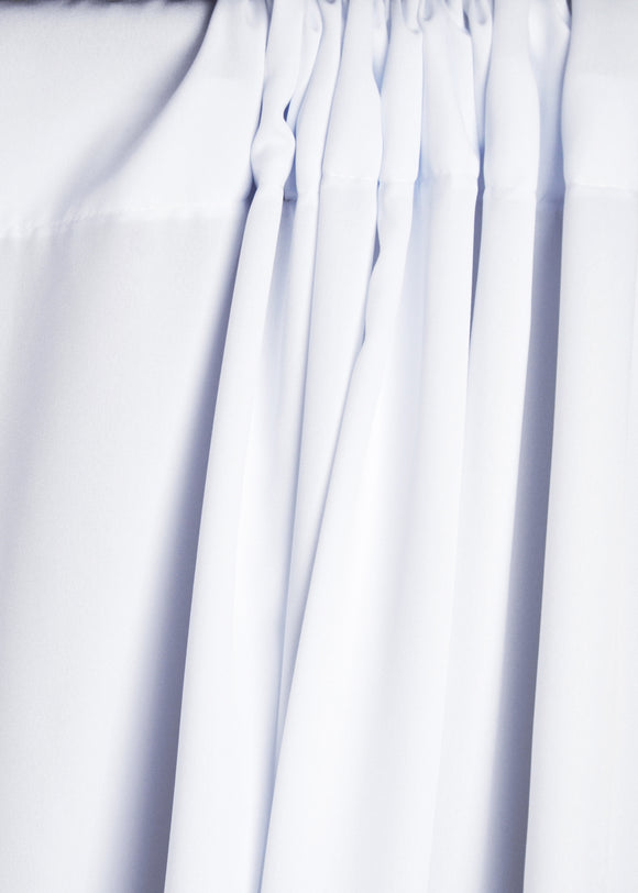 White Platinum Wrinkle-Resistant Background