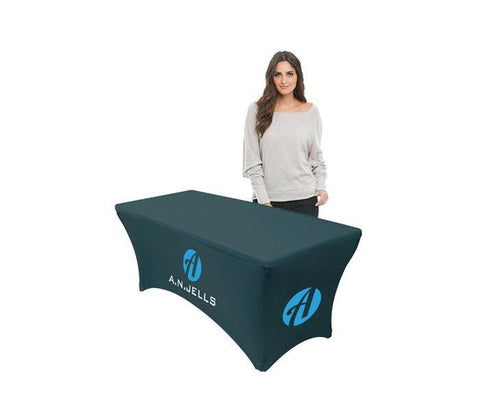 Stretched Table Covers For Customized Tables