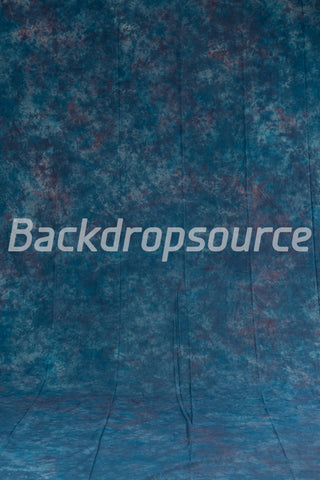 Apex Blue Crushed Photo Fashion Muslin Background
