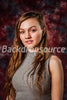 Red Cave Fashion Photography Muslin Backdrop