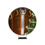 Door Step Christmas Photography Circle backdrop stand