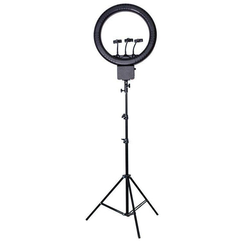 Powerful 18 Inch (70w) Video Studio Selfie Ring Light for Smartphones - (Live Videos, Podcast, Insta Light)