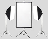 Passport / ID Backdrop With Stand and Studio Lighting kit