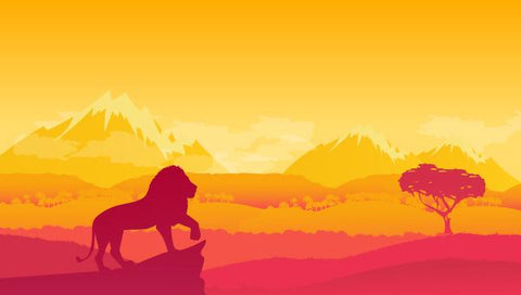 The Lion King Illustration Backdrop