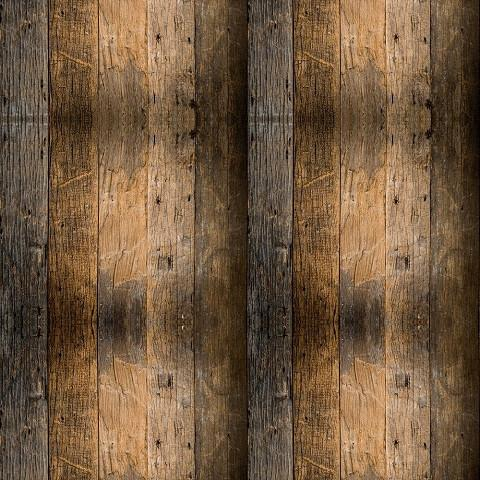 Wood Plank Indelible Print Fabric Backdrop