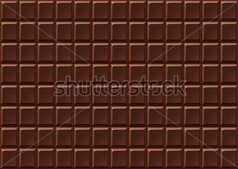 Bar of Hickory Milk Chocolate Print Photography Backdrop