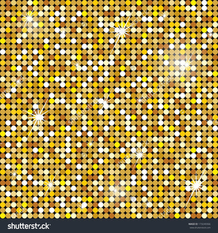 Golden Seamless Pattern Print Photography Backdrop