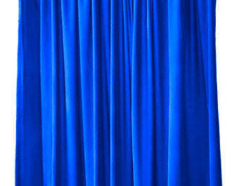 Chroma Blue Platinum Wrinkle-Resistant Background