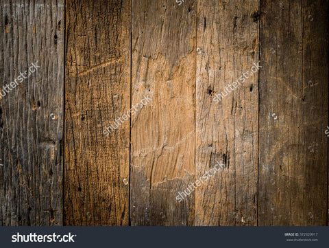 Old Wooden Vintage Indelible Print Fabric Backdrop