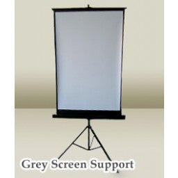 Photography Passport Gray Background With Stand