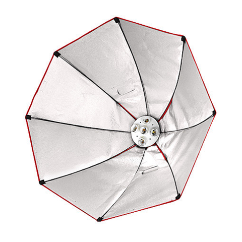 "5 Lamp 35"" Octagonal Softbox 30W Fluorescent 725W Light Equipment"