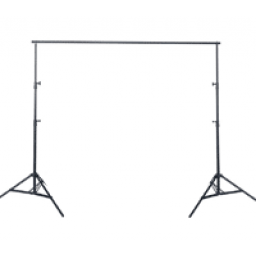 Portable Photography Backdrop Stand - 3m Wide X 3m Tall