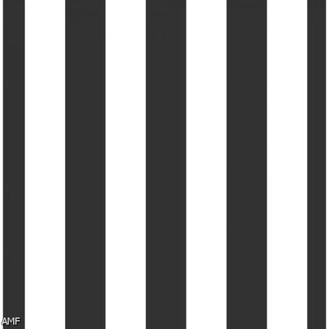 Black and White Vertical Stripes Print Photography Backdrop
