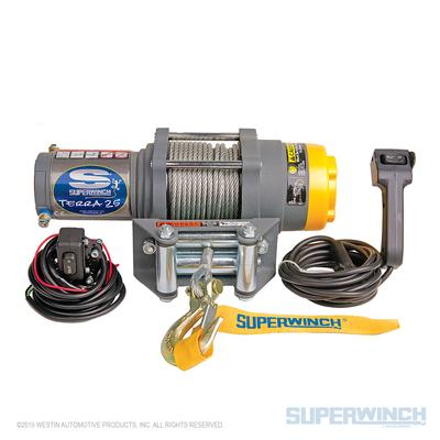 Superwinch Terra 25 12v ATV/UTV Winch - Steel Rope - 1125220