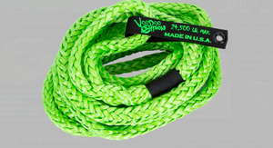 "3/4"" Loop Light Truck, Jeep, and SUV VooDoo Offroad Ropes (Kinetic Recovery Rope) 24,500lbs"