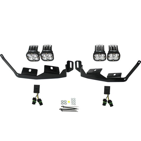 LED Light Pods Kit W/Horiz Mounts 1.75 Inch Harness Squadron Pro Baja Designs