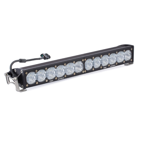 20 Inch LED Light Bar Single Straight Wide Driving Combo Pattern OnX6 Baja Designs