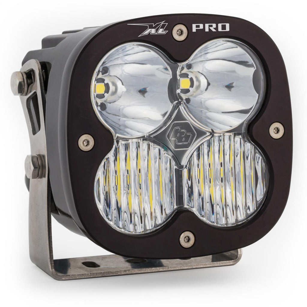 LED Light Pods Clear Lens Spot Pair XL Pro Driving/Combo Baja Designs