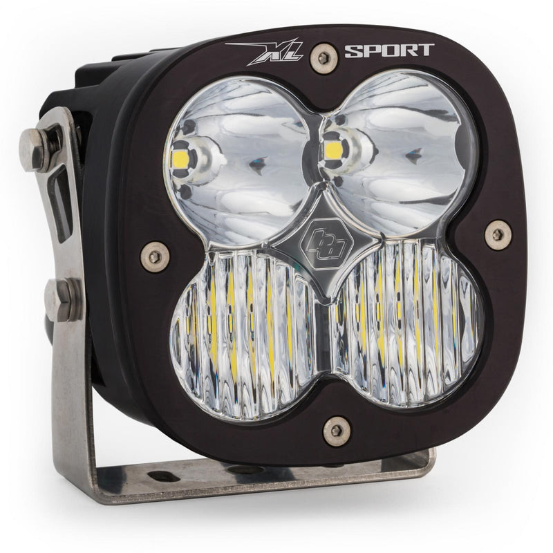 LED Light Pods Clear Lens Spot Pair XL Sport Driving/Combo Baja Designs