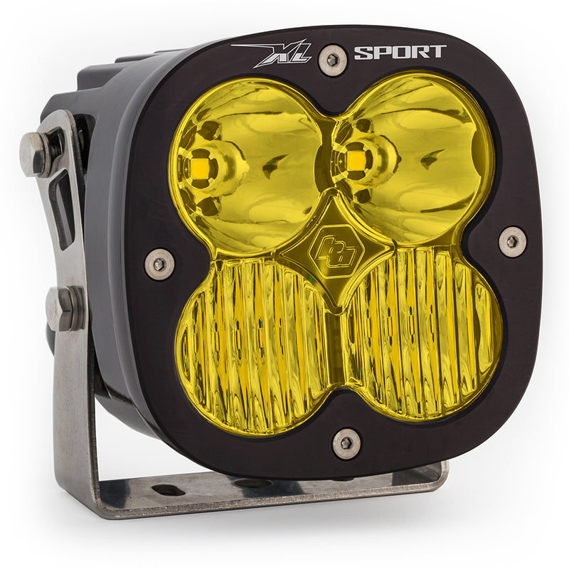 LED Light Pods Amber Lens Spot Pair XL Sport Driving/Combo Baja Designs