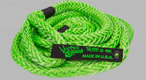 "7/8"" RV, 3/4 and 1 Ton trucks VooDoo Offroad Ropes (Kinetic Recovery Rope) 38,000lbs"