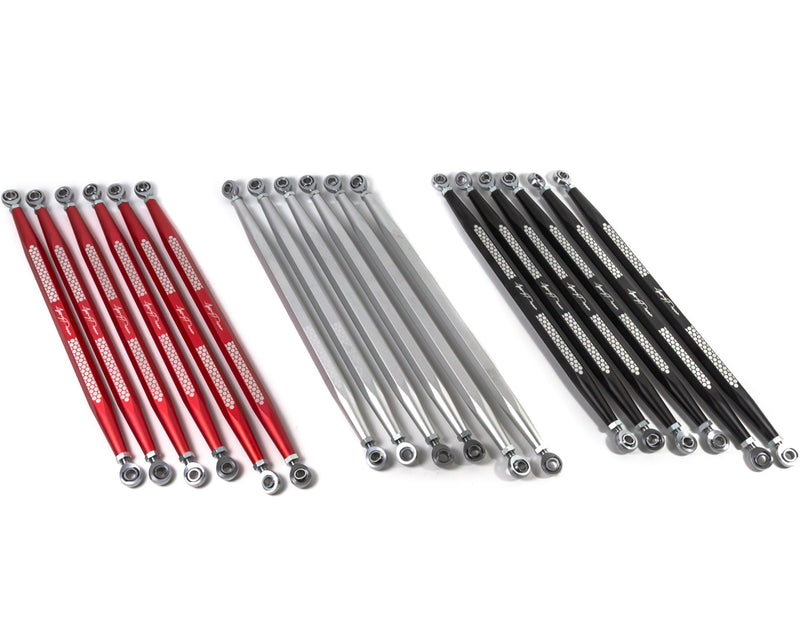 Agency Power Adjustable Rear Radius Rod Set in three colors for Can-Am Maverick X3
